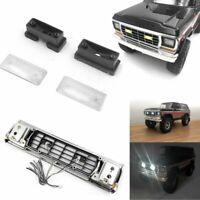 Fog LED Licht Front Gitter Set für Traxxas TRX-4 Car Bronco Ranger D110 1/10