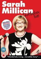 Sarah Millican Chatterbox Live ( DVD, 2013) New  Region 4