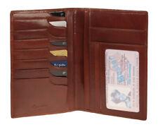Esquire Toscana 5510-48 Braun Brieftasche Lederbrieftasche Reisebrieftache