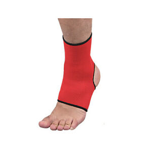 ISAMI Ankle Supporter Color Red Made in Japan free shipping FedEx tracking