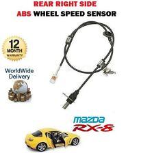 Pour Mazda RX8 1.3 2002-12/2008 NOUVEAU 1 X Arrière Côté Droit ABS Roue Capteur de vitesse