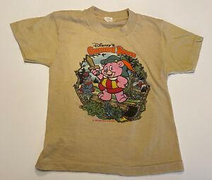 Vintage 1985 Walt Disney's Gummi Bears Youth Medium 6-8 T-Shirt Tee