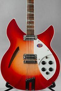 2021 Rickenbacker 360/12c63 12-String Electric Guitar Fireglo