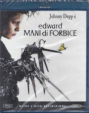 Blu-ray **EDWARD MANI DI FORBICE** con Johnny Depp nuovo sigillato 1991