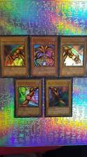 Yu-Gi-Oh! Complete Exodia the Forbidden One!  5 CARTES LOB-Set ultra! cartes EN