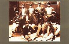 Postcard Nostalgia 1896 England Cricket Team W.G Grace Reproduction Card
