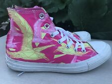 CONVERSE ALL STAR CHUCK TAYLOR FLORAL PRINT HIGH-TOP SNEAKERS WOMEN'S SIZE 39/9