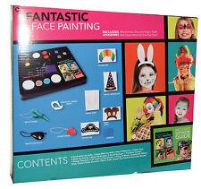 Face Paints Set Painting Kit Kids Painting + Accessories Fabulous (Pirate)