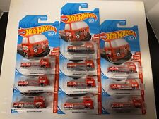 Lot 10 Hot Wheels Red Edition 'Volkswagen T2 Pickup.Target Exclusive New!