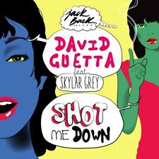 DAVID FEAT. SKYLAR GREY GUETTA - SHOT ME DOWN (2TRACK)  CD SINGLE NEW+