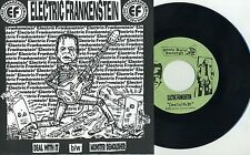 "Electric Frankenstein - Deal With It 7"" Adrenalin O.D. New Jersey Punk Rock KBD"