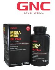 GNC Mega Men 50 Plus Mens Health Support Multivitamins and Minerals 60caps