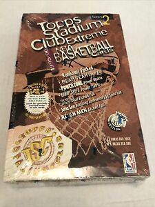 1995-96 Topps Stadium Club series 2 Hobby Basketball Box 24/11