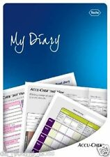 Accu Check Record Monitoring Diary to Store Blood Glucose Results - Pocket Size