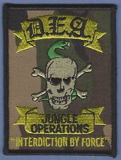 DRUG ENFORCEMENT ADMINISTRATION LATIN AMERICA JUNGLE OPERATIONS POLICE PATCH