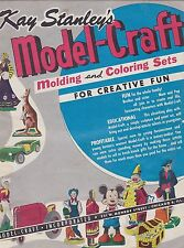 #MISC-1099 -  1950s KAY STANLEY MODEL CRAFT catalog MICKEY MOUSE - DISNEY