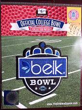 NCAA College Football Belk Bowl Patch 2013/14 Cincinnati, North Carolina