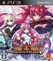 Used PS3 Arcana Heart 3 PlayStation 3 JAPAN OFFICIAL IMPORT FREE SHIPPING