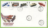 G.B. 2003 Transports of Delight set on Royal Mail First Day Cover, Hornby cds
