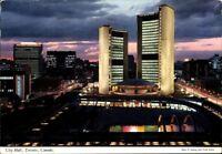 Postkarte Ak Pk Ansichtskarte gelaufen farbig City Hall Toronto Canada Kanada