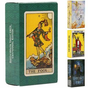 Tarotkarten Orakelkarten Rider Waite Tarot Karten Card Kartendeck Spielkarten DE