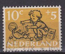 NVPH Netherlands Nederland 599 TOP CANCEL KRIMPEN a/d LEK Kinderzegel 1952