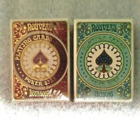 Set of 2-LIMITED NOUVEAU BOURGOGNE and BIJOUX-UC'16 ANNUAL DECK Playing Cards