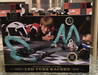 FAO SCHWARZ - Remote controlled 31 piece LED TUBE RACERS with track + 2 cars NIB