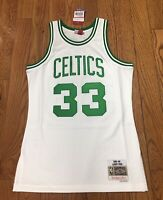 Boston Celtics Larry Bird Mitchell & Ness  NBA Swingman Jersey