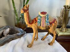 Hawthorne Village Thomas Kinkade Nativity Figurine Sculpture Standing Camel Nice