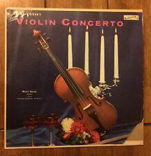Michele Auclair Tchaikovsky Violin Concerto LP Masterseal HI FI 1957