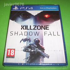 KILLZONE SHADOW FALL NUEVO Y PRECINTADO PAL ESPAÑA PLAYSTATION 4 PS4