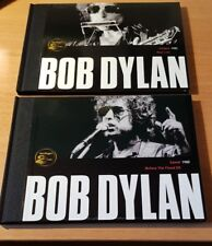 BOB DYLAN - 2 BOOKS LIMITED EDITION SPANISH PRESS - 4 DISK 42 PAGES EACH - GREAT