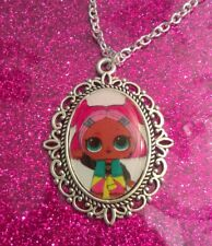 Silver Charm Necklace Pendant LOL L.O.L Surprise Doll Teachers Pet