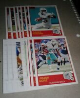 2019 Score Miami Dolphins Team Set, (2005) Ryan Fitzpatrick RC 16 cards 6 RC