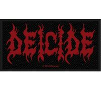 Deicide Logo Patch Official Death Metal Band Merch