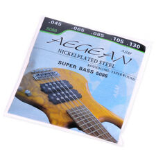 "5 String Super Bass Strings Guitar String Nickelplated Steel Roundcore 045""-130"""
