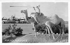 More details for b86484 camel types folklore  kano airport plane airplane  nigeria africa
