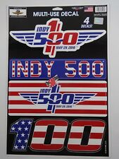 2016 Indianapolis 500 100TH Anniversary Event 4 - Collector Multi-Use Decals Set