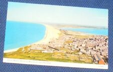 CHESIL BEACH, SHOWING WEYMOUTH FROM PORTLAND