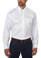 Mens White Shirt XL 17 Long Sleeve 32/33 Button Down Collar Kirkland Signature
