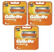 Gillette Fusion 5 Razor Blades - 4 Pack x3