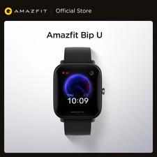 Original 2021 AMAZFIT Bip U Smartwatch Color Display Sport Tracking Smart Watch