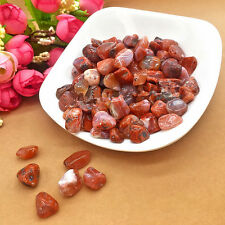 50g 100% NATURAL Carnelian Tumbled Stones Lots Rough/Specimen NICE