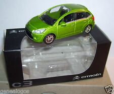 NOREV 3 INCHES 1/54 CITROEN C3 VERT CLAIR IN BOX