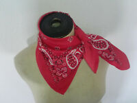 Trachtentuch Halstuch Damen Herren Nickituch Trachtenhalstuch Rot Geschenk