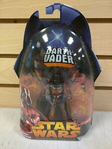 Star Wars Revenge of the Sith Darth Vader Target Exclusive Lava Action Figure