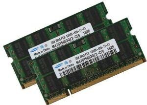 2GB 4GB DDR2 667 MHz Laptop RAM PC2-5300S SODIMM SAMSUNG Speicher