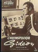 "IFB Illustrierte Film Bühne Nr. 4505 "" Chefinspektor Gideon """