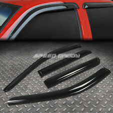 FOR 11-14 DODGE DURANGO SMOKE TINT WINDOW VISOR/WIND DEFLECTOR VENT RAIN GUARD